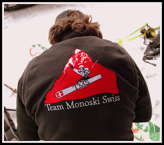 Le boss de la Team Monoski Swiss