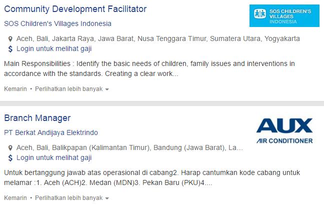Lowongan Kerja Terbaru Kabupaten Aceh Tamiang 2019
