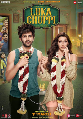 Poster Luka Chuppi 2019 Hindi HD 720p