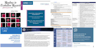 Evaluability Assessment Guides