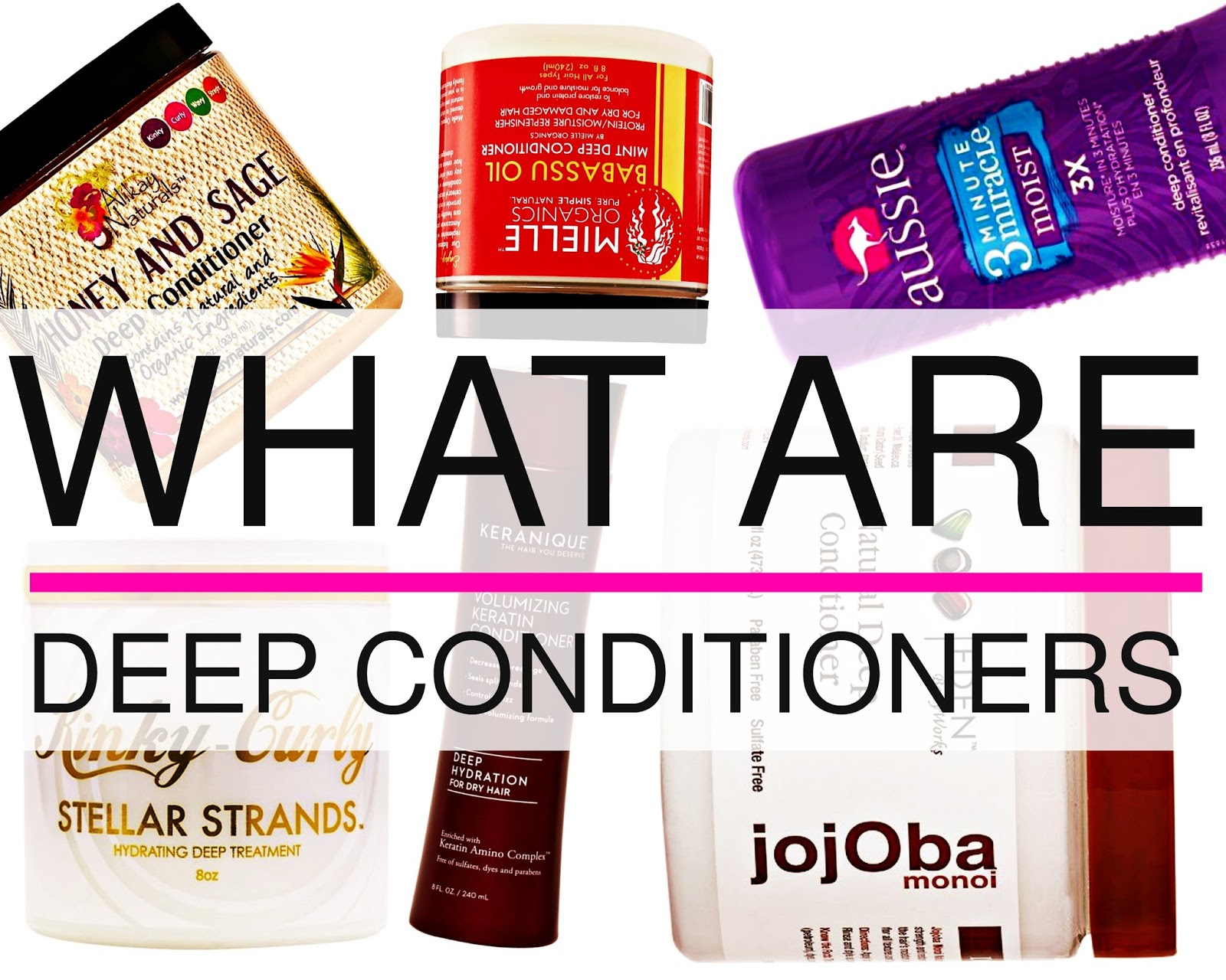 Best Deep Conditioners For Natural Hair C