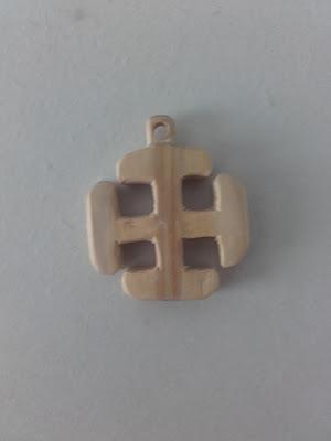 croix scoute en buis