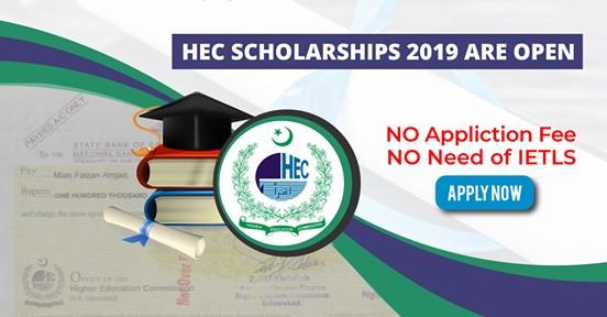 HEC Scholarship 2019 Are Open (National Merit Scholarship)