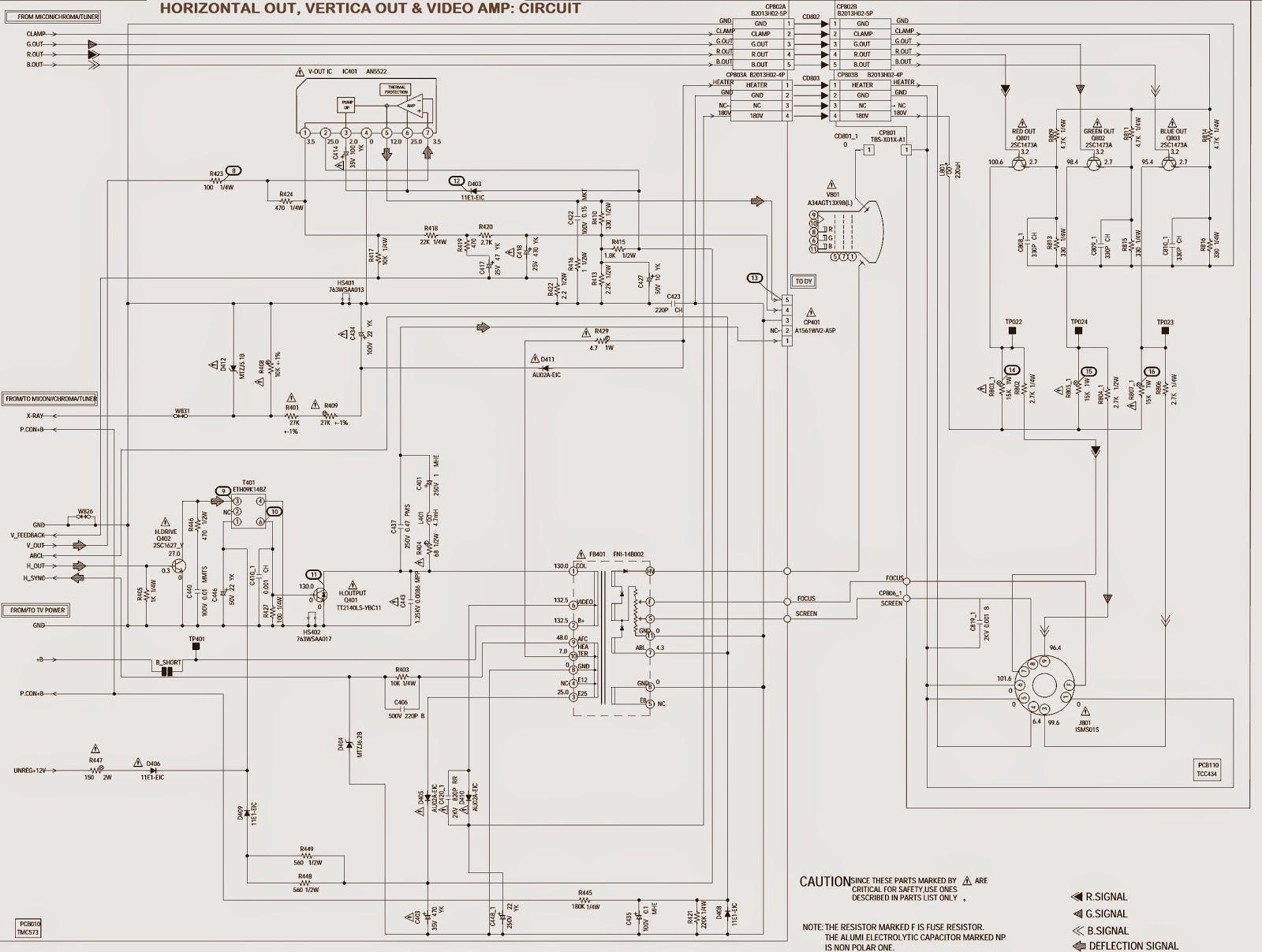 PANASONIC CTZ1423 _ CIRCUIT DIAGRAM (Schematic)  SMPS