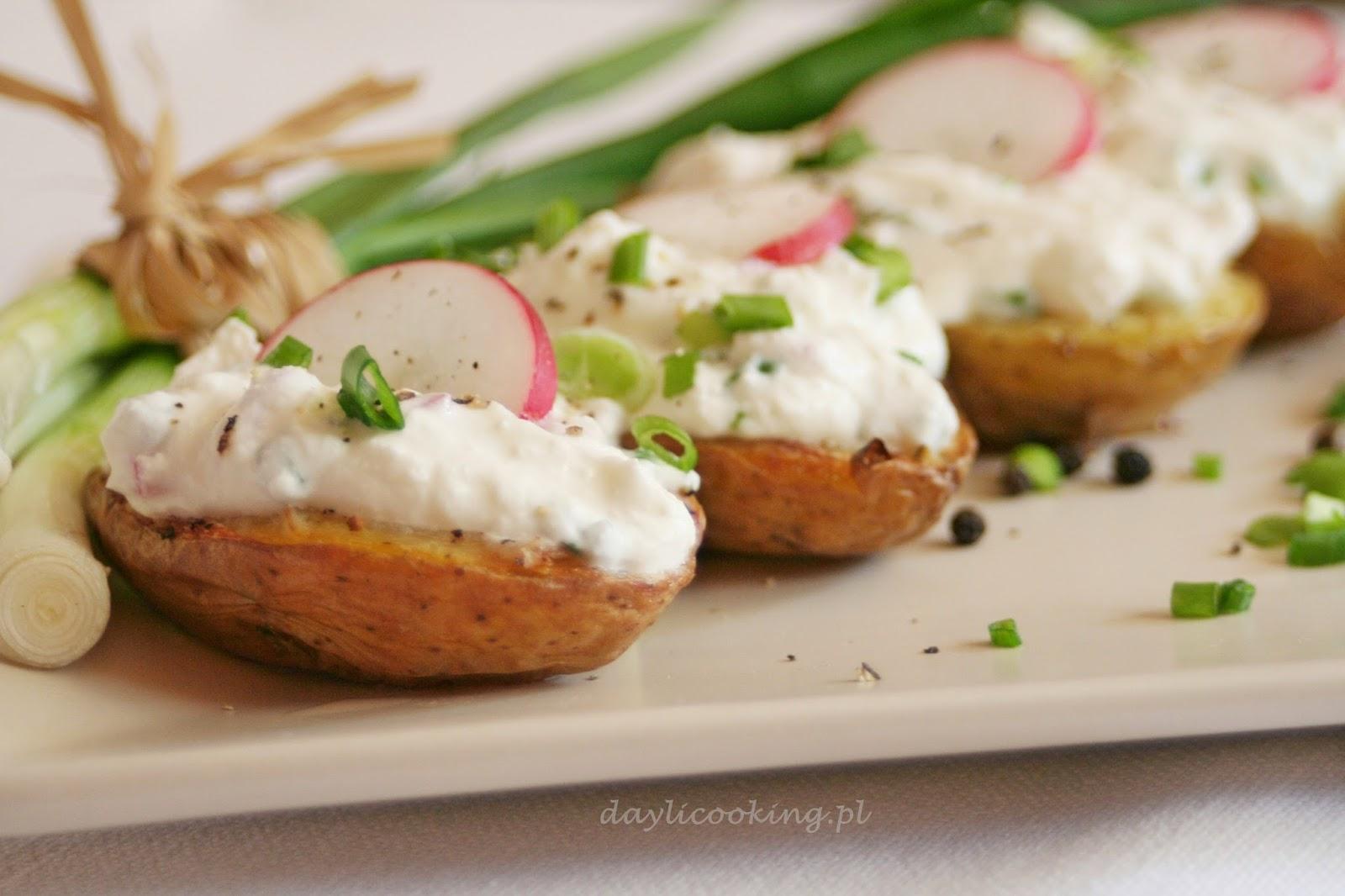 zapiekane ziemniaki, jak upiec ziemniaki, daylicooking