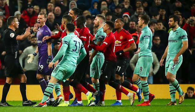 Patroli303 : Jadwal Siaran Langsung Arsenal vs Manchester United