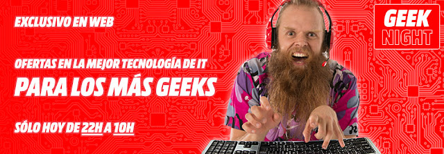 Geek Night Media Markt noviembre 2016