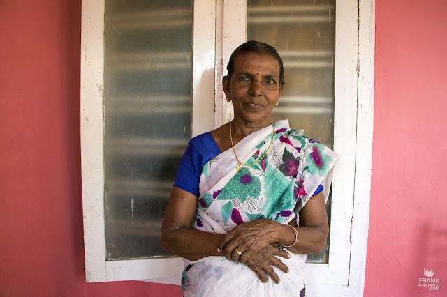 mujer de kerala india