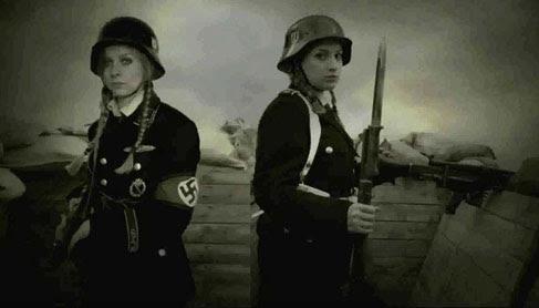Prajurit Wanita Nazi Psikopat, Berdarah Dingin dan sadis bagian 1