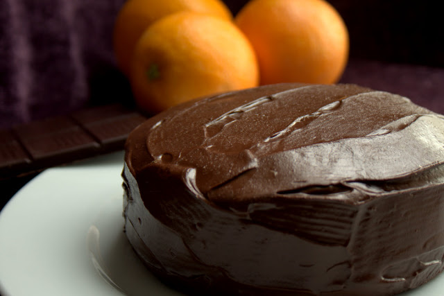 Pastel de Chocolate y Naranja Thermomix