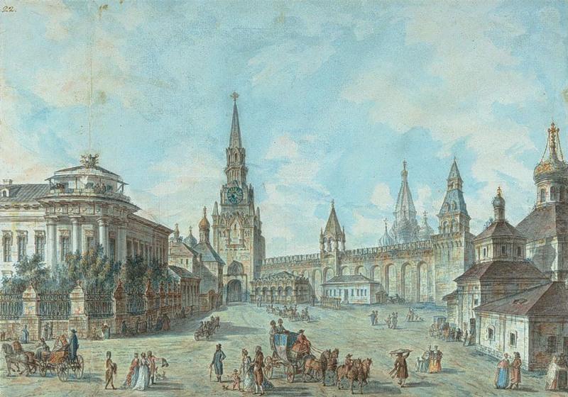 Подмосковный краевед: Московский Кремль и Красная площадь ...