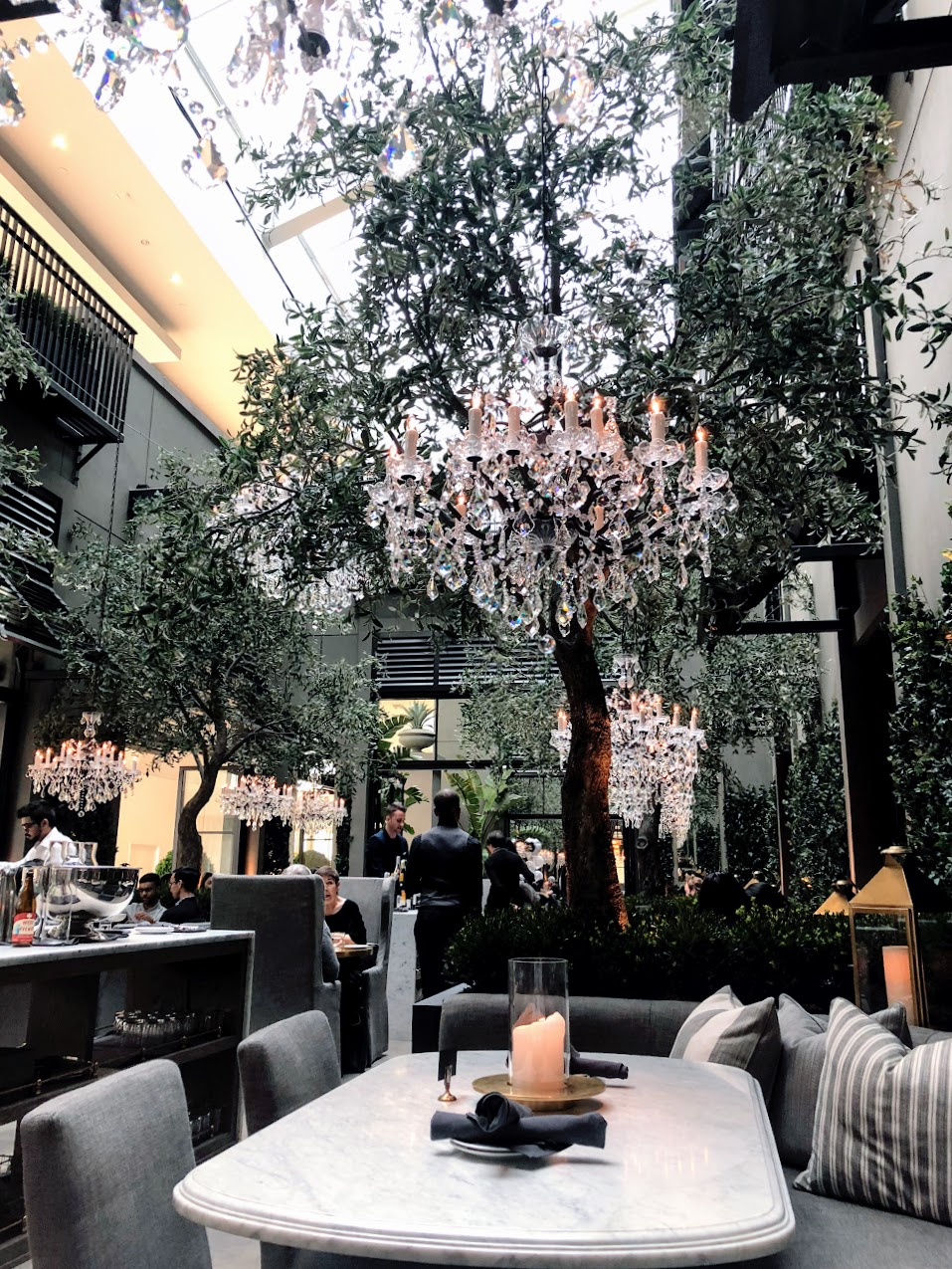 Restoration Hardware Cafe - Restaurant Review
