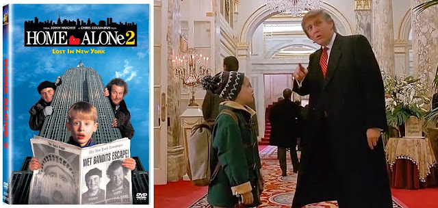 What is a clever review title for home alone?