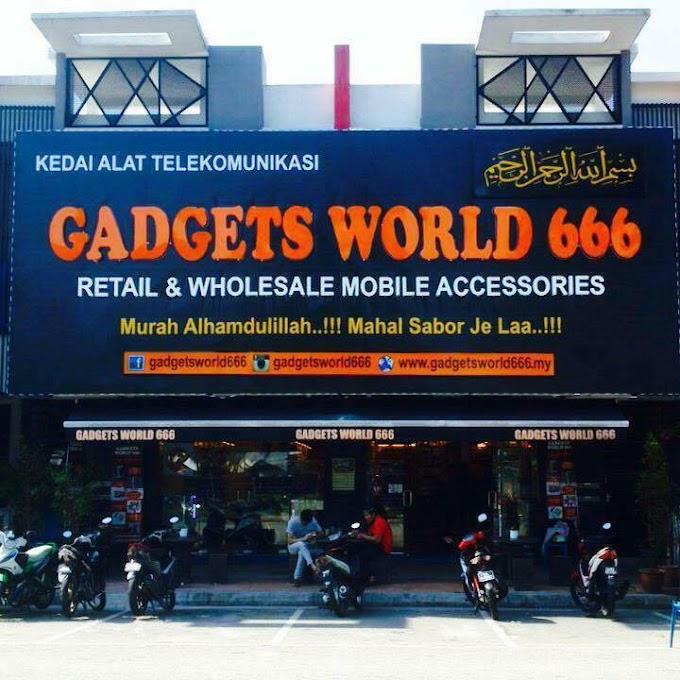GADGETS WORLD 666 : PORT CARI BARANG GADGET TERBAIK