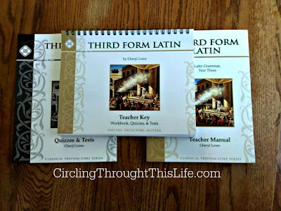 Third Form Latin Teacher Resources from Memora Press #hsreviews
