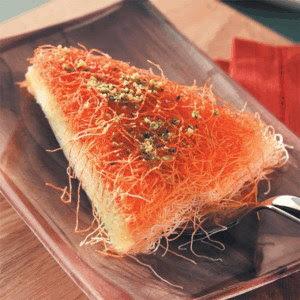 Kunafa Nabulsiah Bil Kishta Recipe Nice Cook