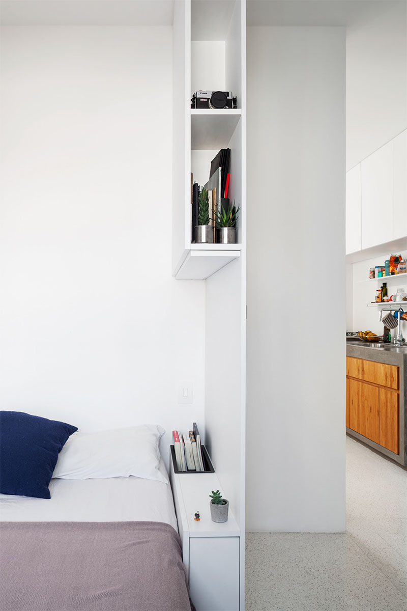 This Small Apartment Has A Loft Area For Relaxing It Makes ...