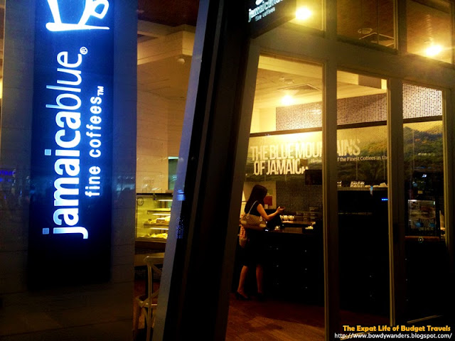 bowdywanders.com Singapore Travel Blog Philippines Photo :: Singapore :: Jamaica Blue Café Fine Coffees in Buona Vista