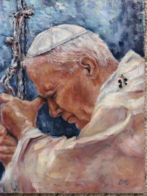 São João Paulo - Ícones para grupo de oração, seminário de vida no Espírito Santo e eventos