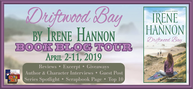 Driftwood Bay book blog tour promotion banner