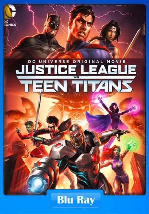 Justice League vs Teen Titans 2016 BluRay 400MB Poster