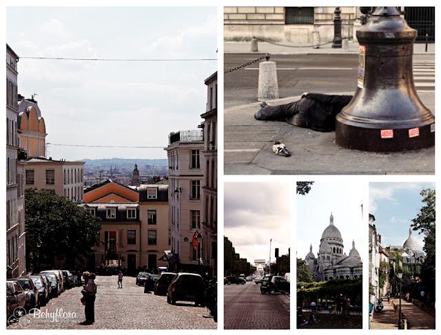 Das Montmatre Viertel und Sacre Coeur