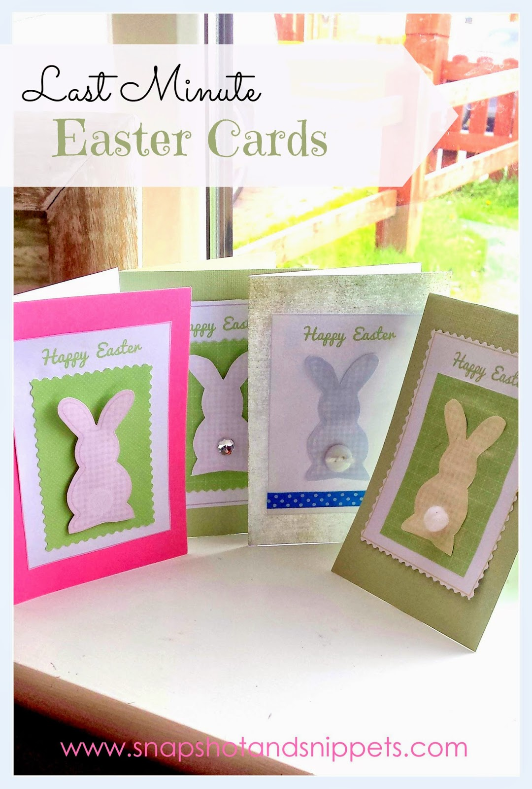 Last Minute Easter Card And Easter Craft Round Up Snapshots And