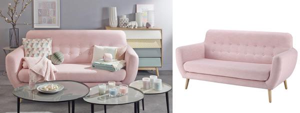 Gennymakeup il colore di tendenza e qualche idea per un - Divano rosa mondo convenienza ...
