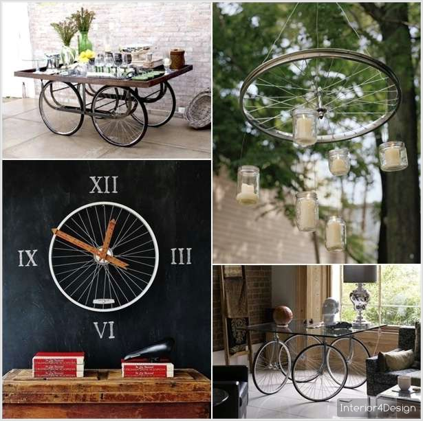 [DIY] 5 Incredible Ideas to Repurpose Bicycle Wheels