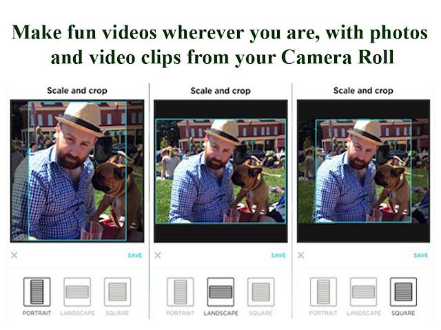 make fun video with animoto video maker by helping of your camera roll