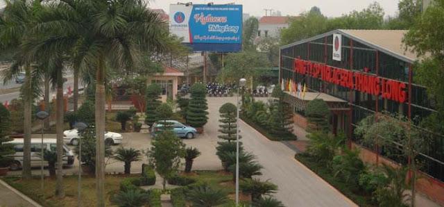 Nhà máy Viglacera Thăng Long