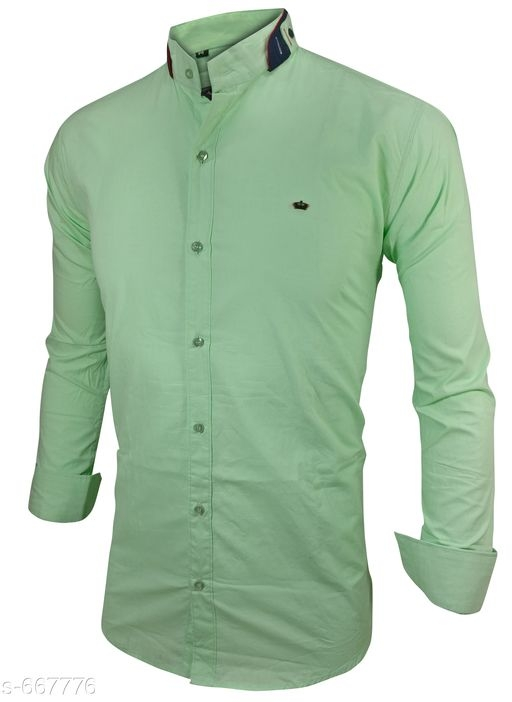 Men's Standard Slim Fit Cotton Shirts Vol 1 [S-667776]