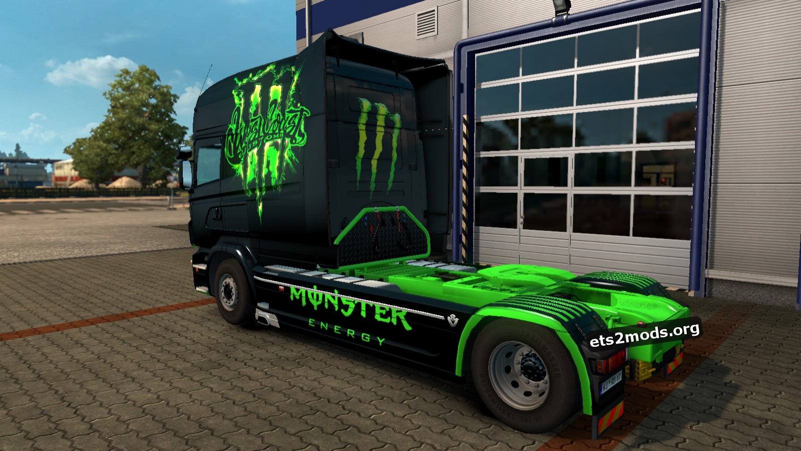 Monster Skin for Scania RJL