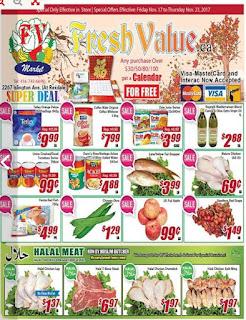 Fresh Value weekly Flyer November 17 - 23, 2017