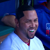 Carlos Beltran styles his own hair with marker (Video)