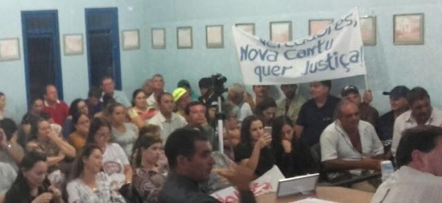 Ex-prefeito de Nova Cantu tem as contas reprovadas pela Câmara e revela que é pré-candidato a deputado