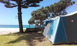Caping beach new zealand