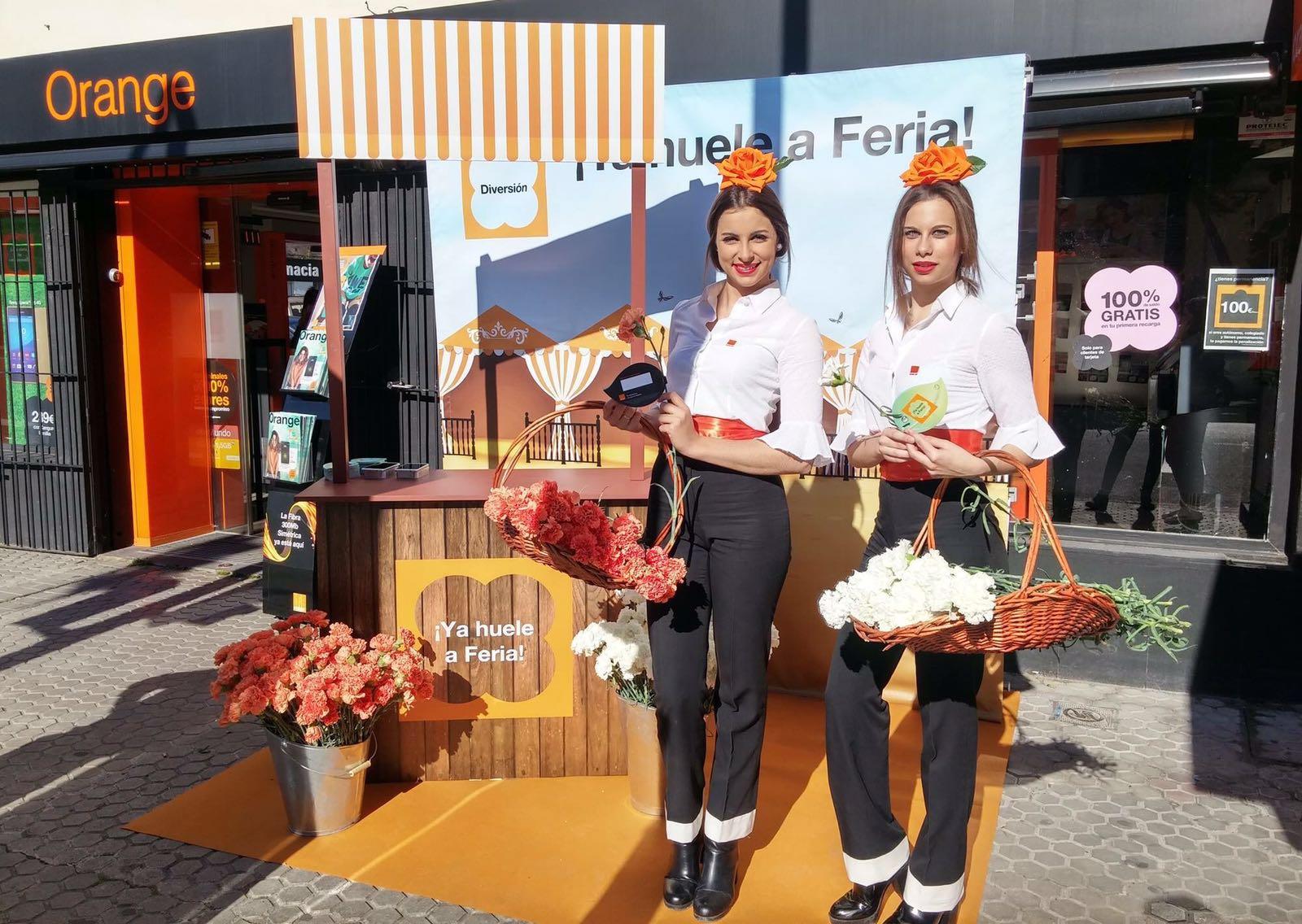 Agencia exclusive events azafatas de exclusive events - Orange en sevilla ...
