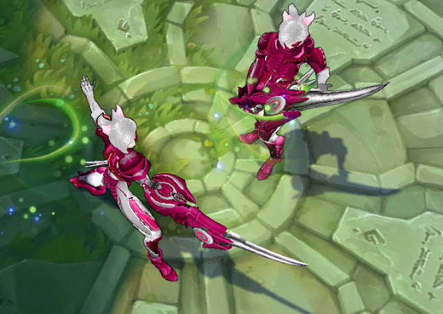 Mod Skin Riven Project Pink