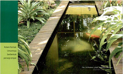 Tukang Taman Surabaya Desain unik Kolam hias