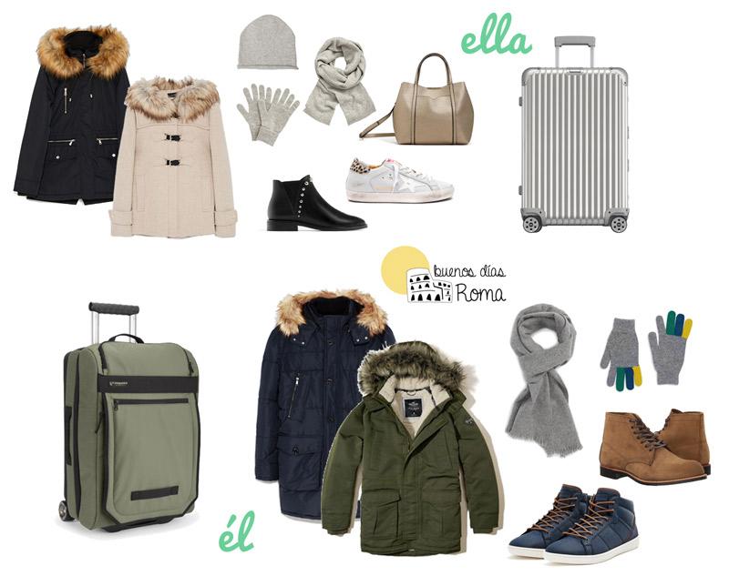 Qué meter en la maleta para Roma invierno