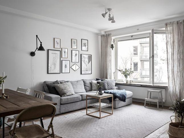 Gris y turquesa para un estilo nórdico de tendencia  três studio