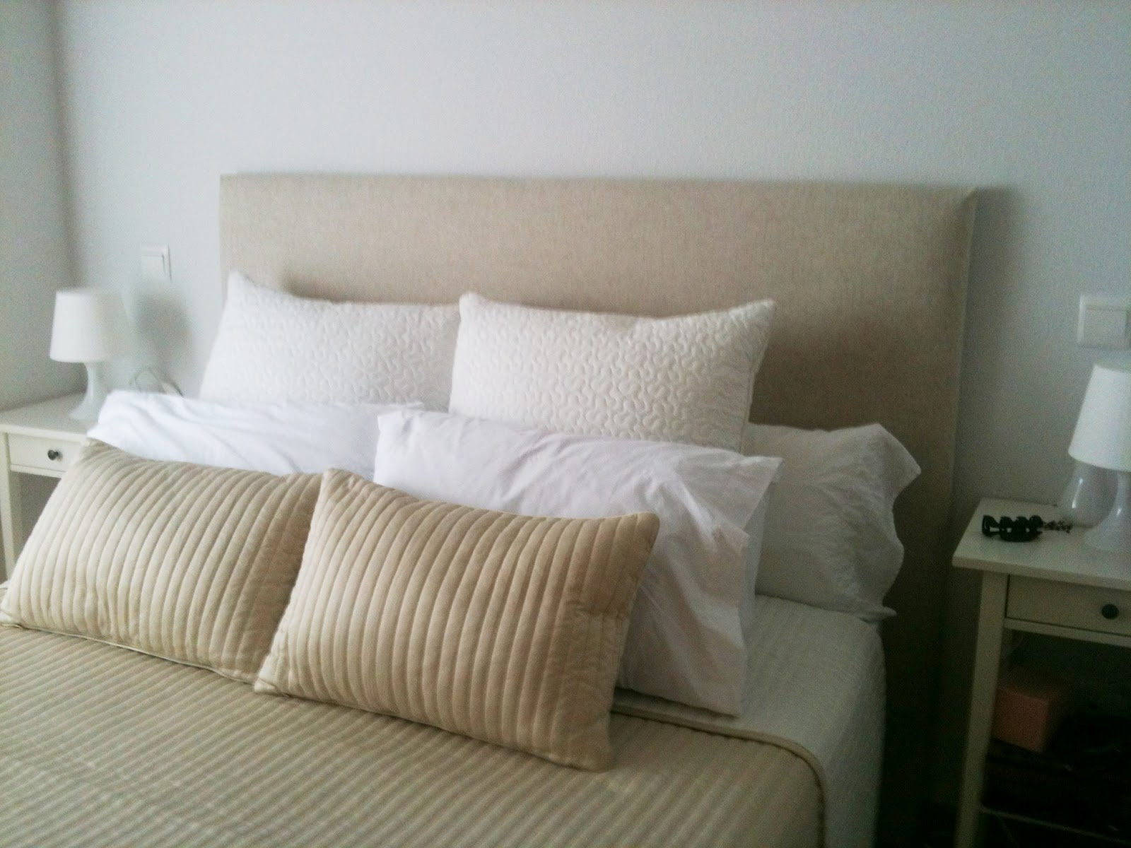 Diy el cabecero de eva - Telas para forrar cabecero cama ...