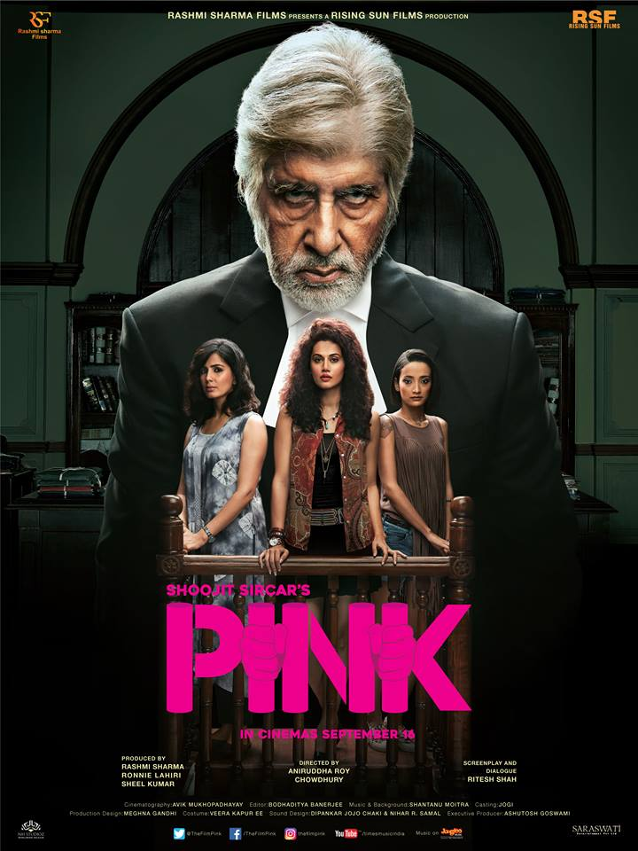 Bollywood movie Pink Box Office Collection wiki, Koimoi, Pink cost, profits & Box office verdict Hit or Flop, latest update Budget, income, Profit, loss on MT WIKI, Bollywood Hungama, box office india