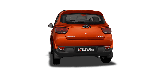 Mahindra New KUV100 NXT Back View hd picture