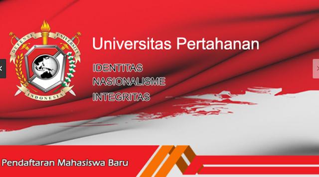 Informasi Beasiswa S2/S3 Universitas Pertahanan Indonesia 2017