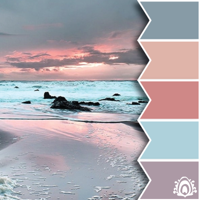 PASTEL SUNRISE COLOR PALETTE