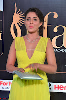 Madhu Shalini Looks Super Cute in Neon Green Deep Neck Dress at IIFA Utsavam Awards 2017  Day 2  Exclusive (13).JPG