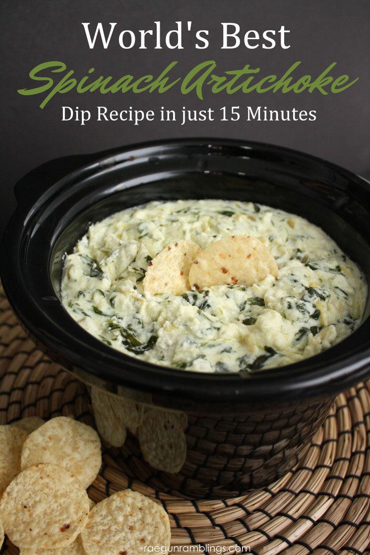 World's Best Spinach Artichoke Dip Recipe | GIRLS DISH