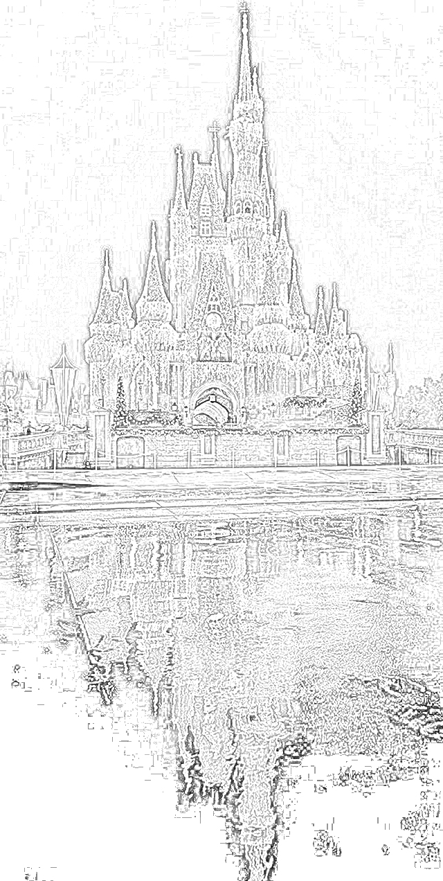 Coloring Pages Disney World Coloring